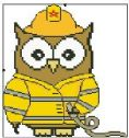 Firefighter Ollie Owl Full Kit